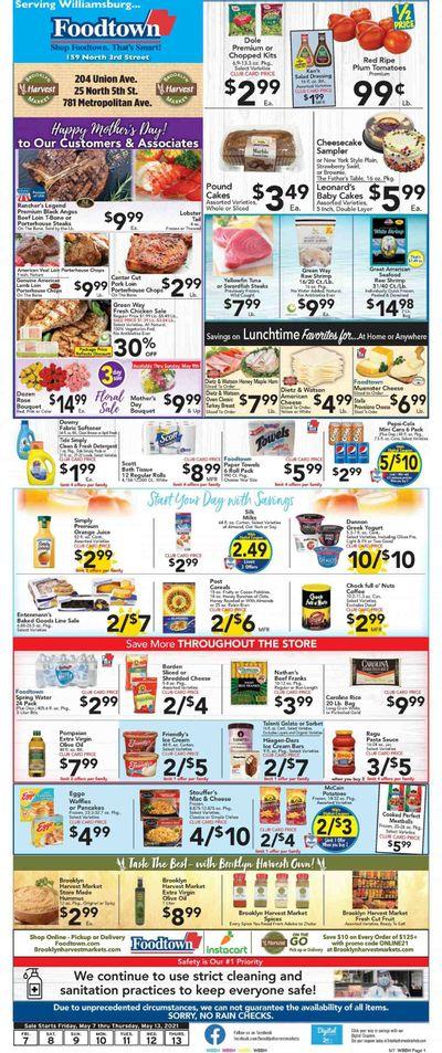 Foodtown (NJ, NY, PA) Weekly Ad Flyer May 7 to May 13