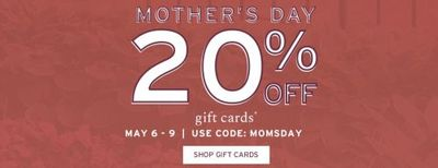 Rockport Canada Mother's Day Sale: Save 20% OFF Gift Cards + Up to 70% OFF Sale + More