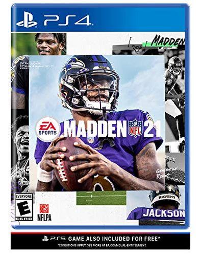 Madden NFL 21 - Playstation 4 $19.99 (Reg $39.99)
