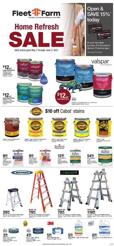 Fleet Farm (IA, MN, ND, WI) Weekly Ad Flyer May 7 to June 5