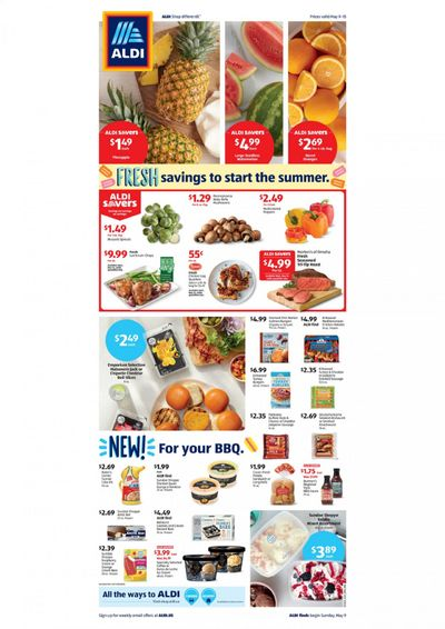 ALDI Weekly Ad Flyer May 9 to May 15