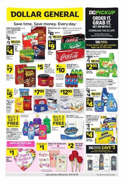 Dollar General (TX) Weekly Ad Flyer May 9 to May 15