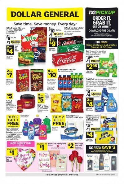 Dollar General (GA, IN, KY, LA, NY, PA, VA) Weekly Ad Flyer May 9 to May 15