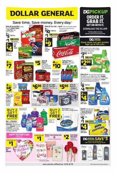Dollar General (NC) Weekly Ad Flyer May 9 to May 15