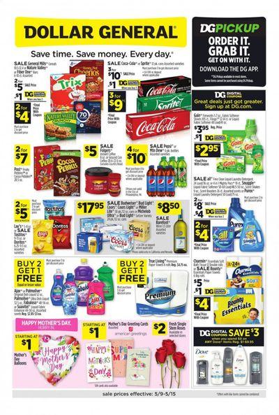 Dollar General (CA, NV) Weekly Ad Flyer May 9 to May 15