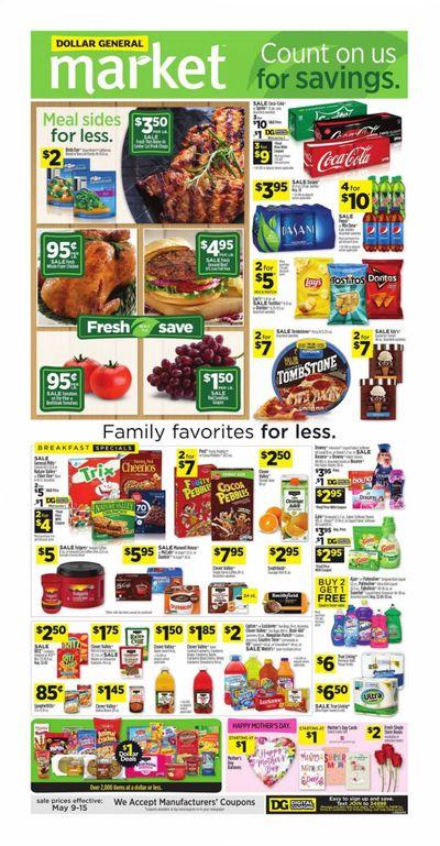 Dollar General (AL, GA, KY, LA, TN) Weekly Ad Flyer May 9 to May 15