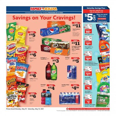 Family Dollar Weekly Ad Flyer May 10 to May 15