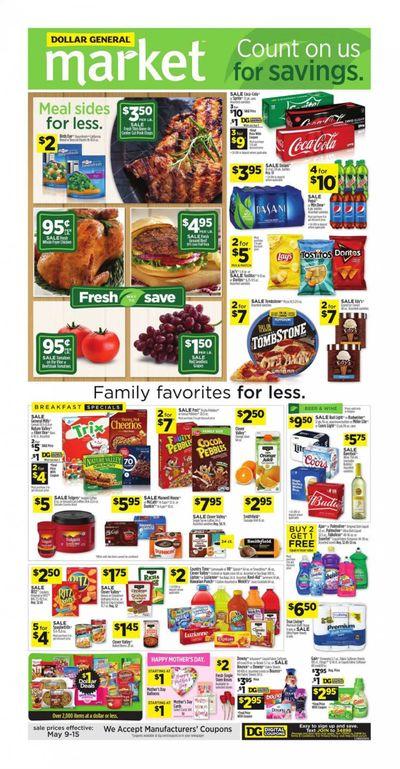 Dollar General (VA) Weekly Ad Flyer May 9 to May 15