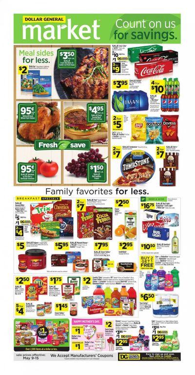 Dollar General (LA) Weekly Ad Flyer May 9 to May 15