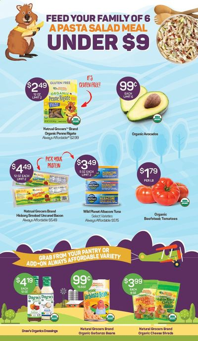 Natural Grocers Weekly Ad Flyer May 10 to May 17