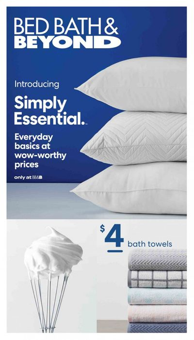 Bed Bath & Beyond Weekly Ad Flyer May 10 to August 29