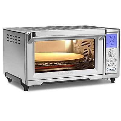 """Cuisinart TOB-260N1 Chef's Convection Toaster Oven, Stainless Steel, 20.87""""(L) x 16.93""""(W) x 11.42""""(H) $309.99 (Reg $379.99)"""