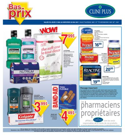 Clini Plus Flyer May 13 to 26