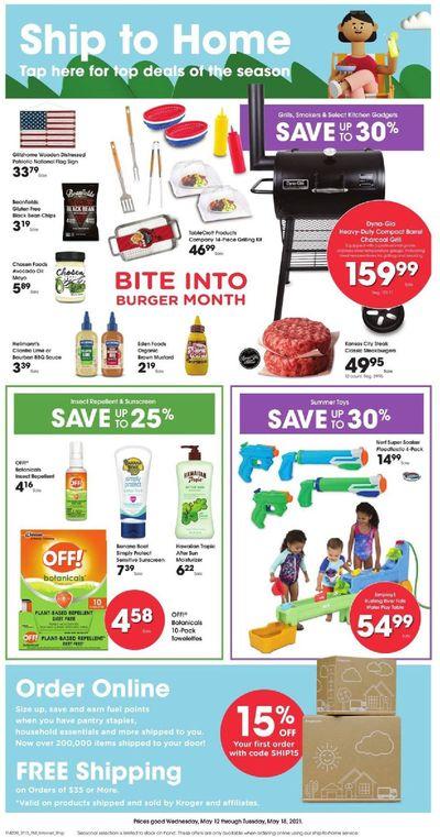 Kroger (GA, IL, LA, MI, OK, SC, TN, TX, VA) Weekly Ad Flyer May 12 to May 18