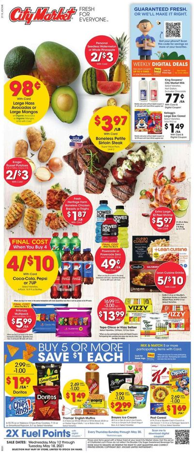 City Market (CO, UT, WY) Weekly Ad Flyer May 12 to May 18