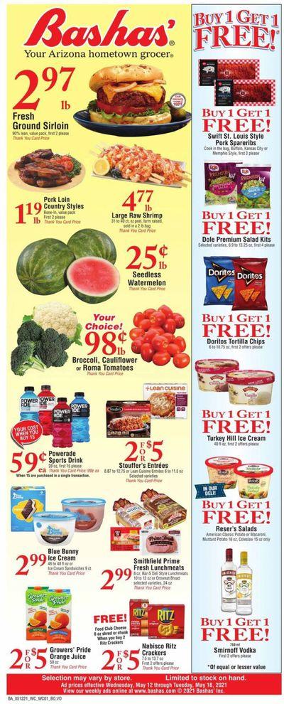 Bashas' (AZ) Weekly Ad Flyer May 12 to May 18