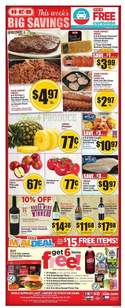 H-E-B (TX) Weekly Ad Flyer May 12 to May 18