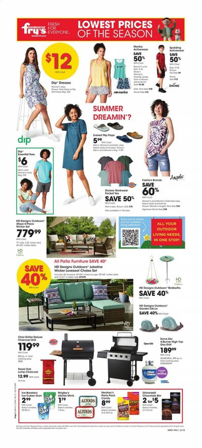 Fry's (AZ) Weekly Ad Flyer May 12 to May 18