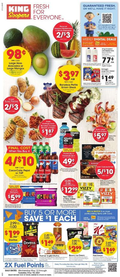 King Soopers (CO) Weekly Ad Flyer May 12 to May 18