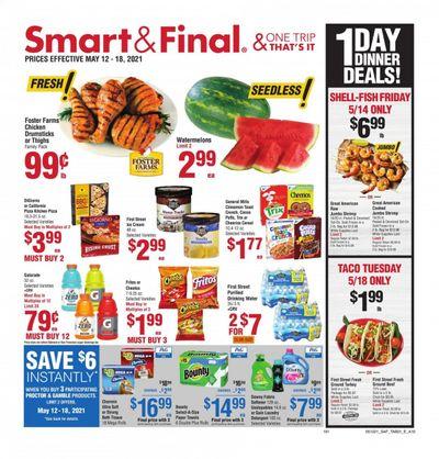 Smart & Final (AZ, CA) Weekly Ad Flyer May 12 to May 18