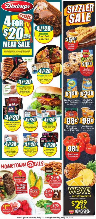 Dierbergs (IL, MO) Weekly Ad Flyer May 11 to May 17