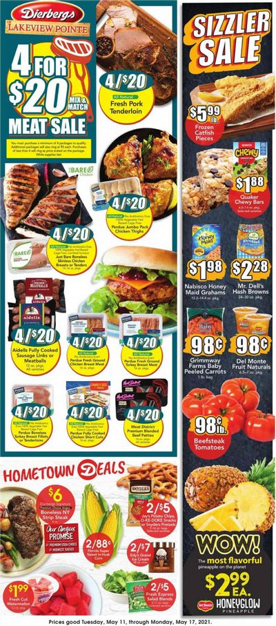 Dierbergs (MO) Weekly Ad Flyer May 11 to May 17