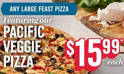 Pacific Veggie Pizza! at Domino's Pizza