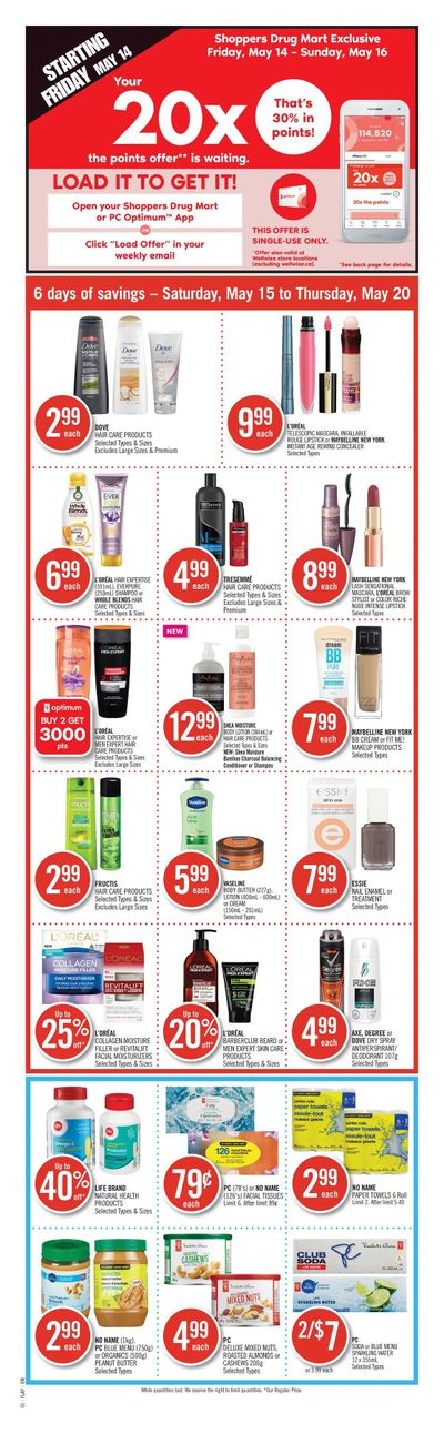 Shoppers Drug Mart (ON) Flyer May 15 to 20