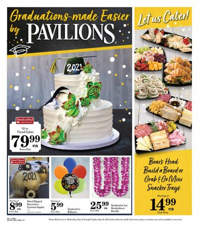 Pavilions (CA) Weekly Ad Flyer May 12 to May 18