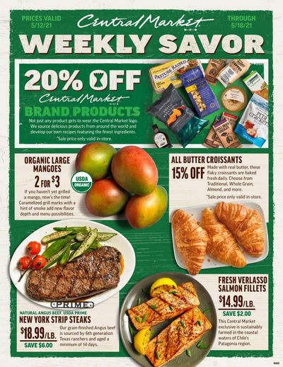 Central Market (TX) Weekly Ad Flyer May 12 to May 18