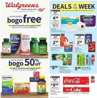 Walgreens Weekly Ad Flyer May 16 to May 22