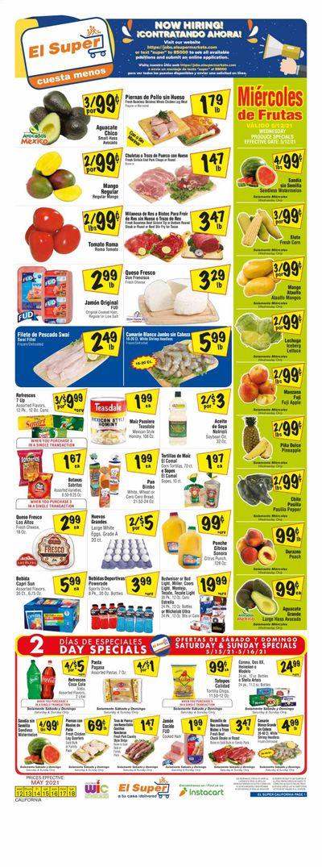 El Super (CA, NM, NV, TX) Weekly Ad Flyer May 12 to May 18
