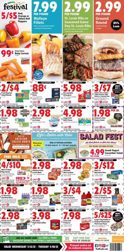 Festival Foods (WI) Weekly Ad Flyer May 12 to May 18