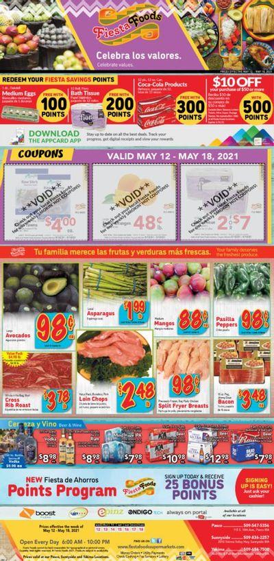 Fiesta Foods SuperMarkets (WA) Weekly Ad Flyer May 12 to May 18