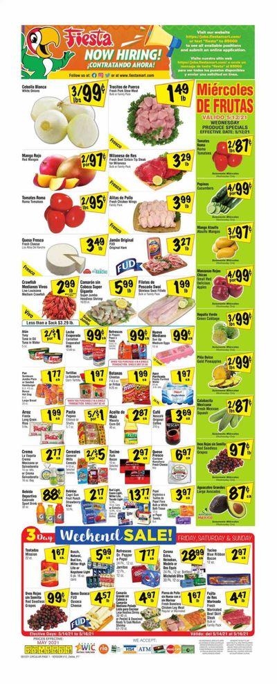 Fiesta Mart (TX) Weekly Ad Flyer May 12 to May 18