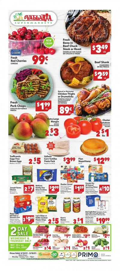 Vallarta (CA) Weekly Ad Flyer May 12 to May 18