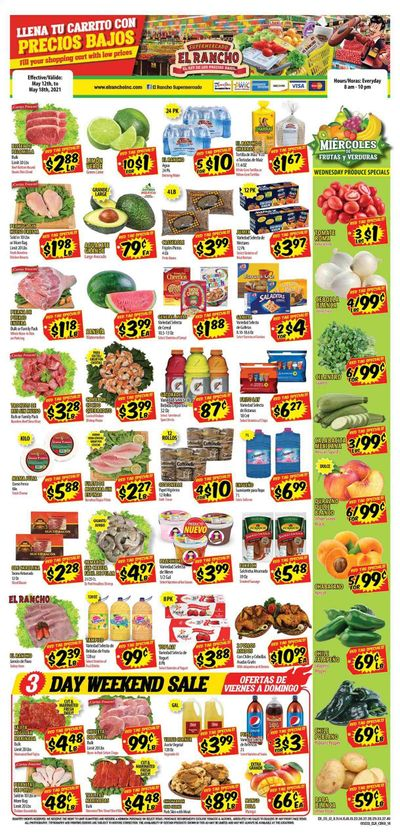 El Rancho (TX) Weekly Ad Flyer May 12 to May 18