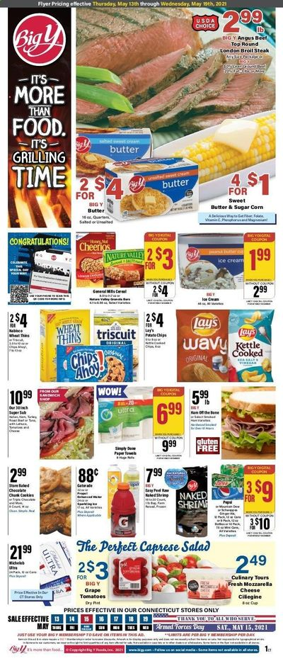 Big Y (CT) Weekly Ad Flyer May 13 to May 19