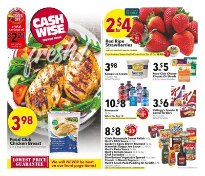 Cash Wise (MN, ND) Weekly Ad Flyer May 12 to May 18