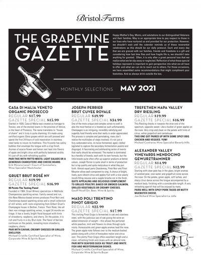 Bristol Farms (CA) Weekly Ad Flyer May 1 to May 31