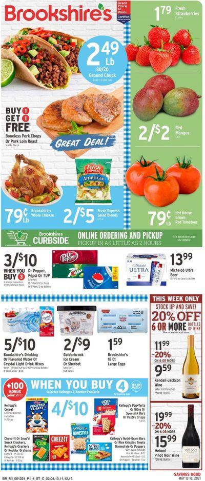 Brookshires (AR, LA, TX) Weekly Ad Flyer May 12 to May 18