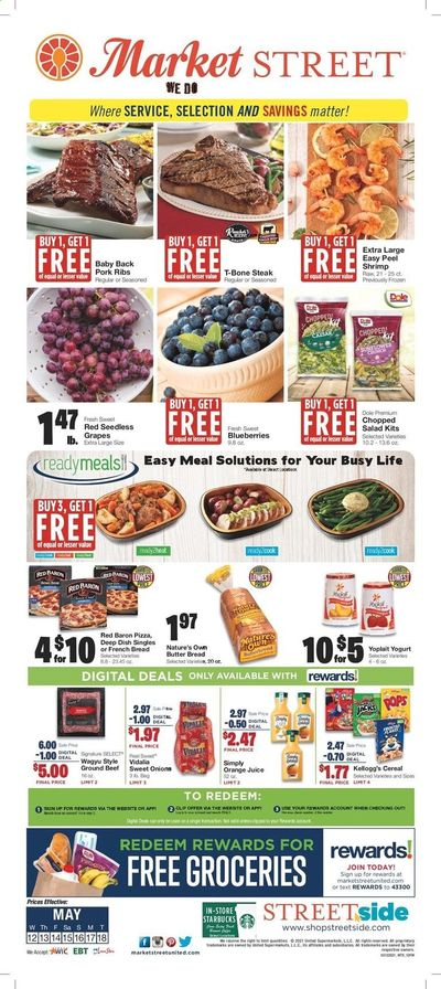 Market Street (NM, TX) Weekly Ad Flyer May 12 to May 18