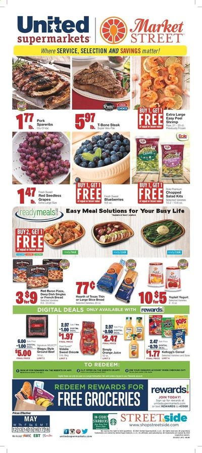 United Supermarkets (TX) Weekly Ad Flyer May 12 to May 18