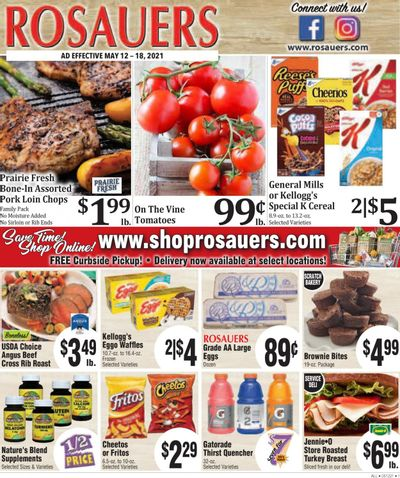Rosauers (ID, MT, OR, WA) Weekly Ad Flyer May 12 to May 18