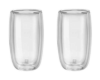 Zwilling J.A. Henckels 39500-078 Sorrento Double Wall Latte Glass Set- 2 Piece Set, 12 Ounces. $23.99 (Reg $31.49)