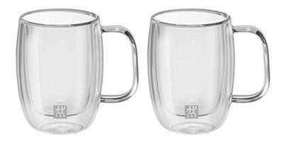 Zwilling J.A. Henckels 39500-111 Sorrento Plus 134 ml Double Wall Double Espresso Mug- 2 Piece Set, Glass $23.99 (Reg $40.00)