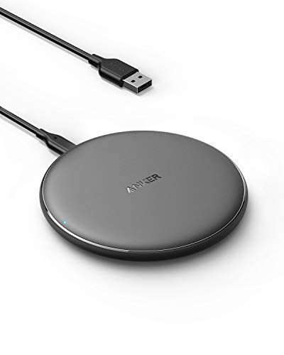 Anker Wireless Charger, PowerWave Pad Qi-Certified 10W Max for iPhone SE 2020, 11, 11 Pro, 11 Pro Max, AirPods, Galaxy S20 S10, Note 10 9 (No AC Adapter, Not Compatible with MagSafe Magnetic Charging) $18.99 (Reg $30.00)