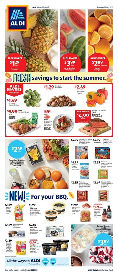ALDI (IL, MI) Weekly Ad Flyer May 9 to May 15