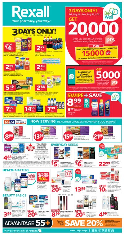 Rexall (West) Flyer May 14 to 20