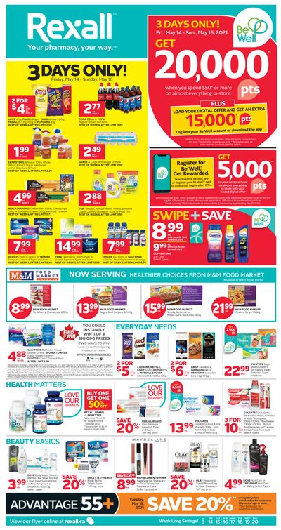 Rexall (ON) Flyer May 14 to 20